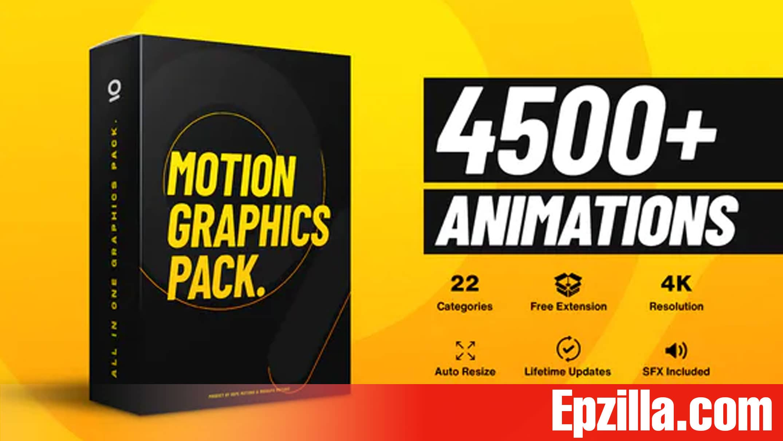 Videohive AtomX 4500+ Graphics Pack 25010010 Free Download Epzilla.com