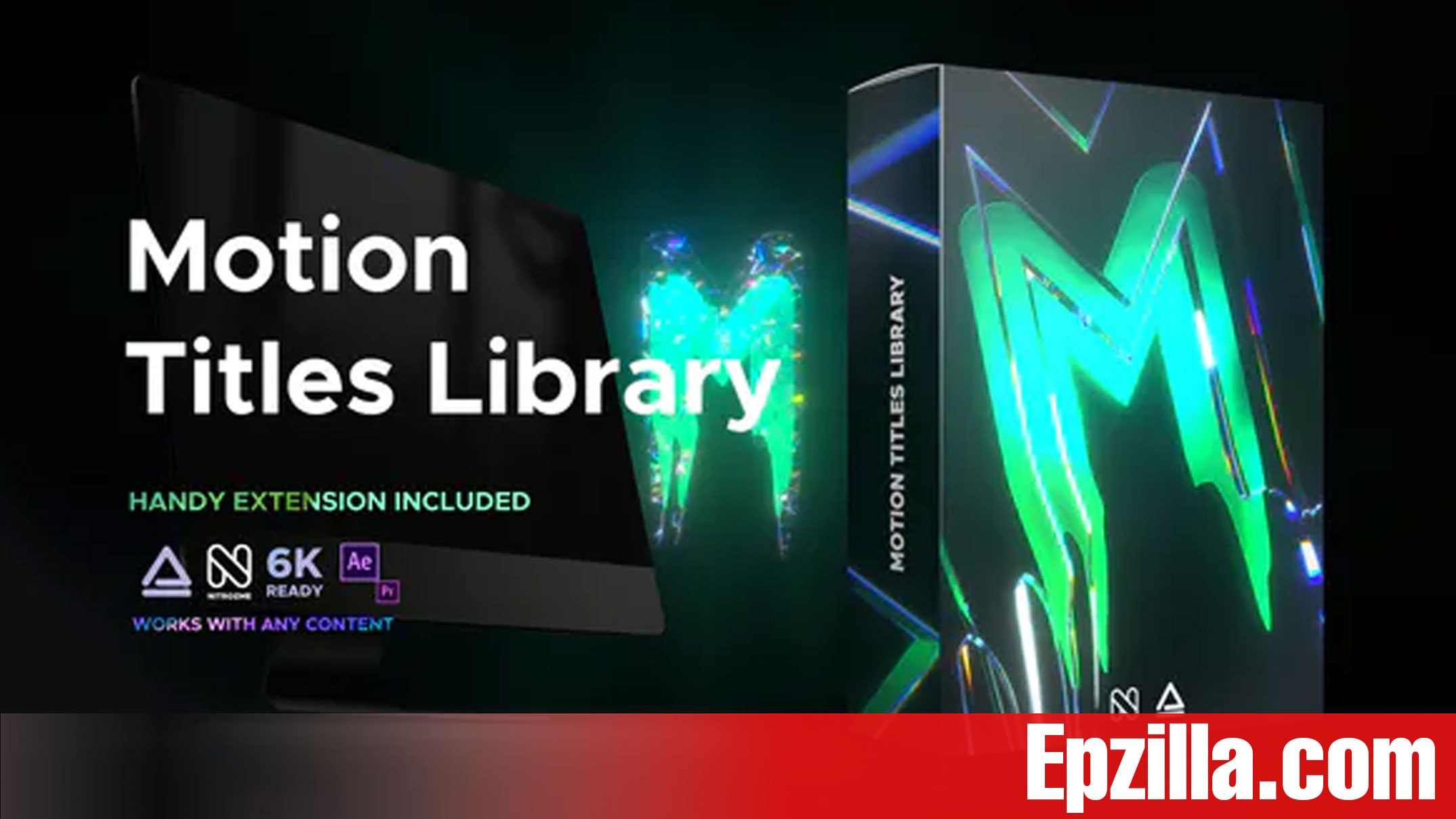 Videohive Motion Titles Library Animated Text Package 33708192 Free Download Epzilla.com